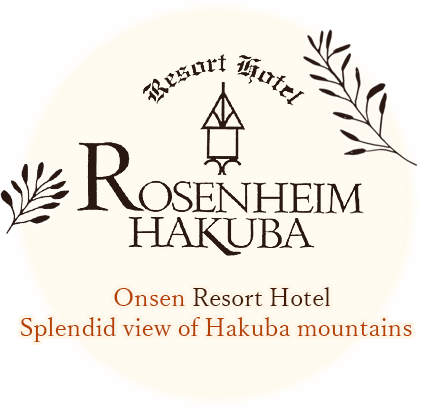 Rosenheim Hakuba Northern European hot spring resort hotel overlooking the North Alps